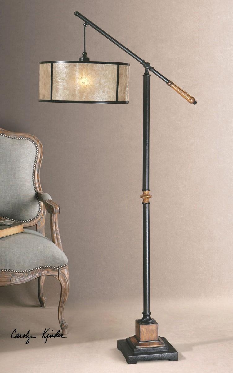 Uttermost Sitka Lantern Floor Lamp