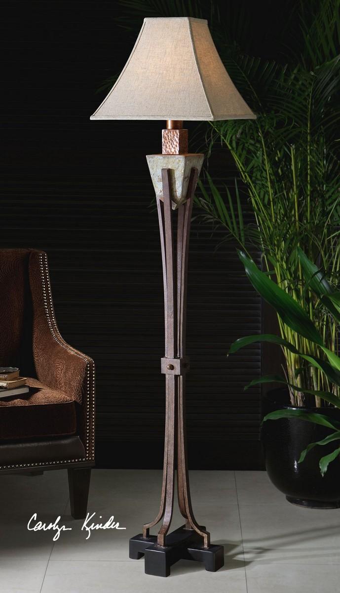 Uttermost Slate Metal Floor Lamp