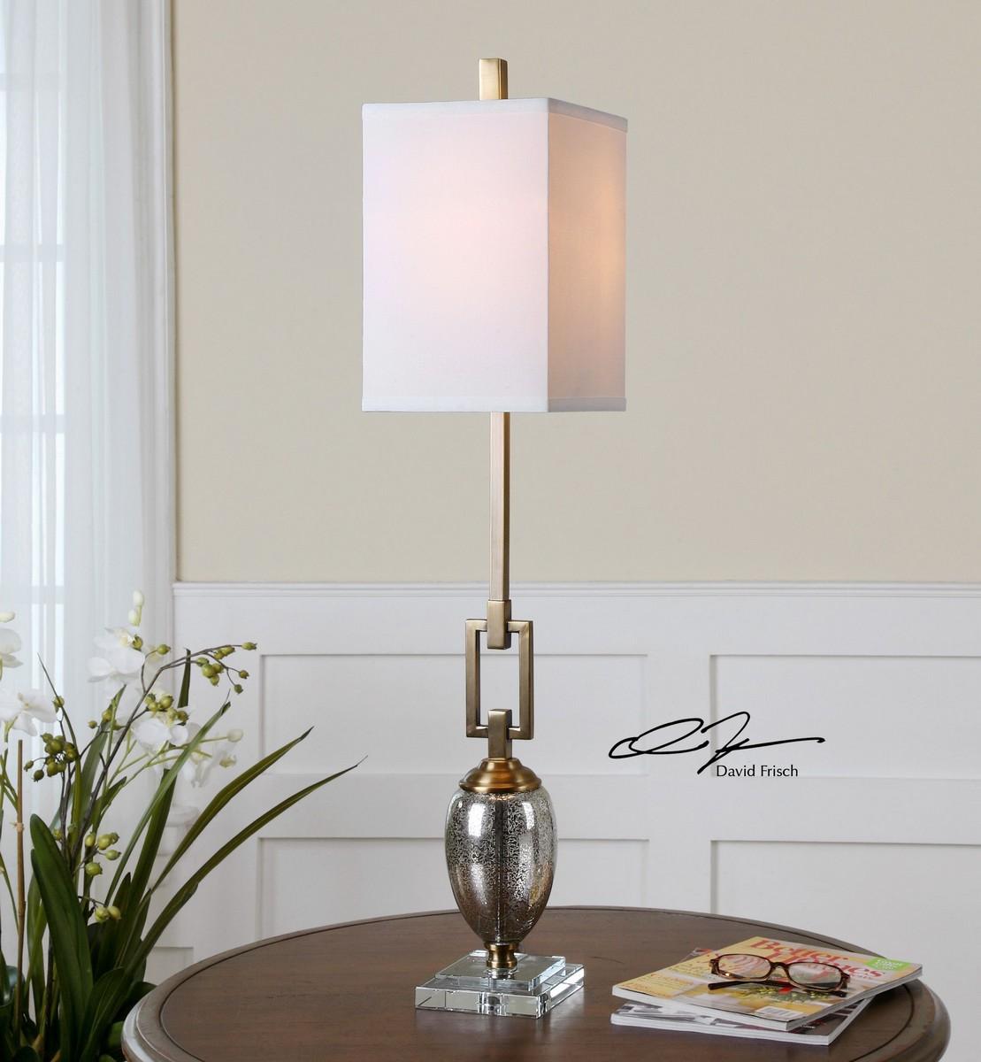 Uttermost Copeland Mercury Glass Buffet Lamp