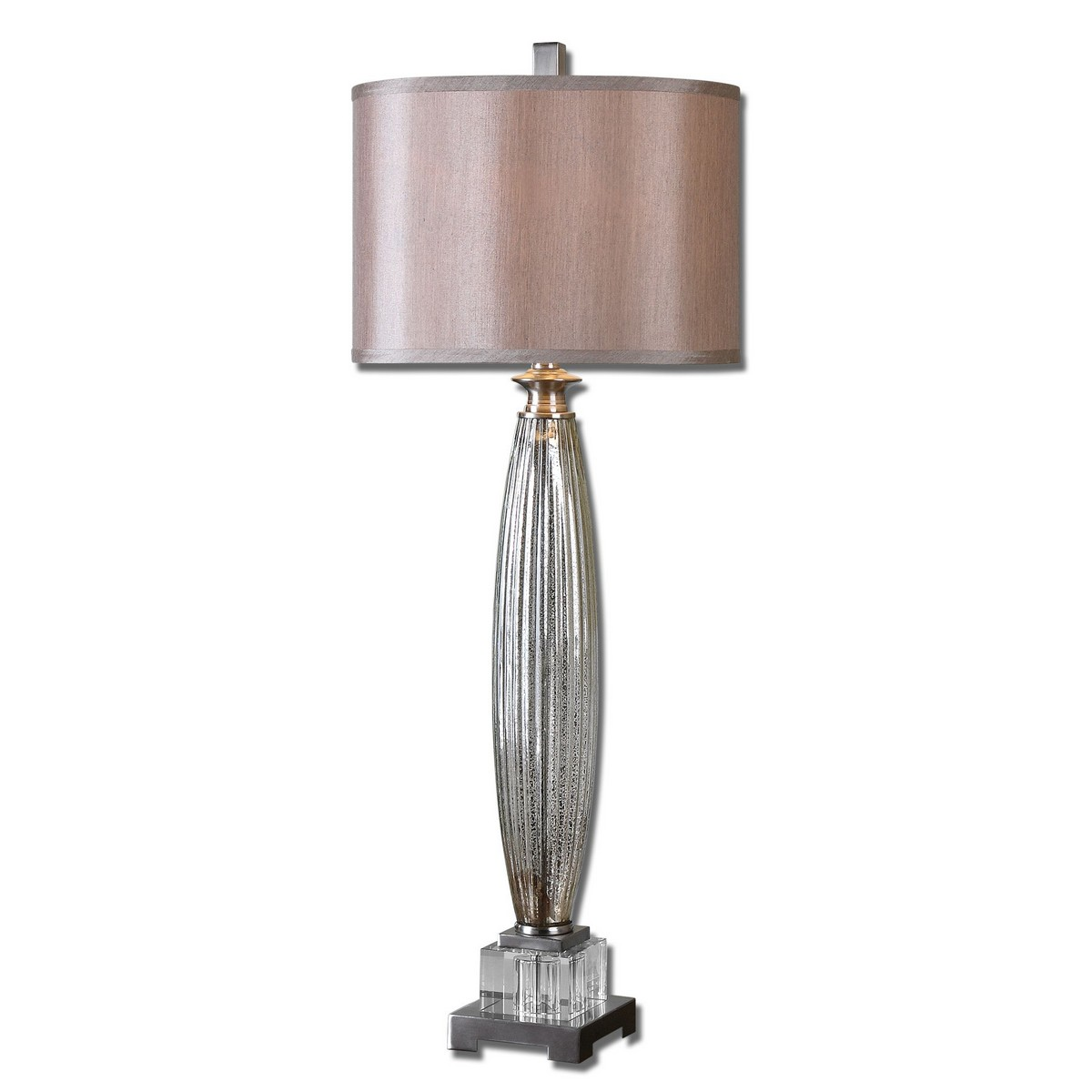 Uttermost Loredo Mercury Glass Table Lamp