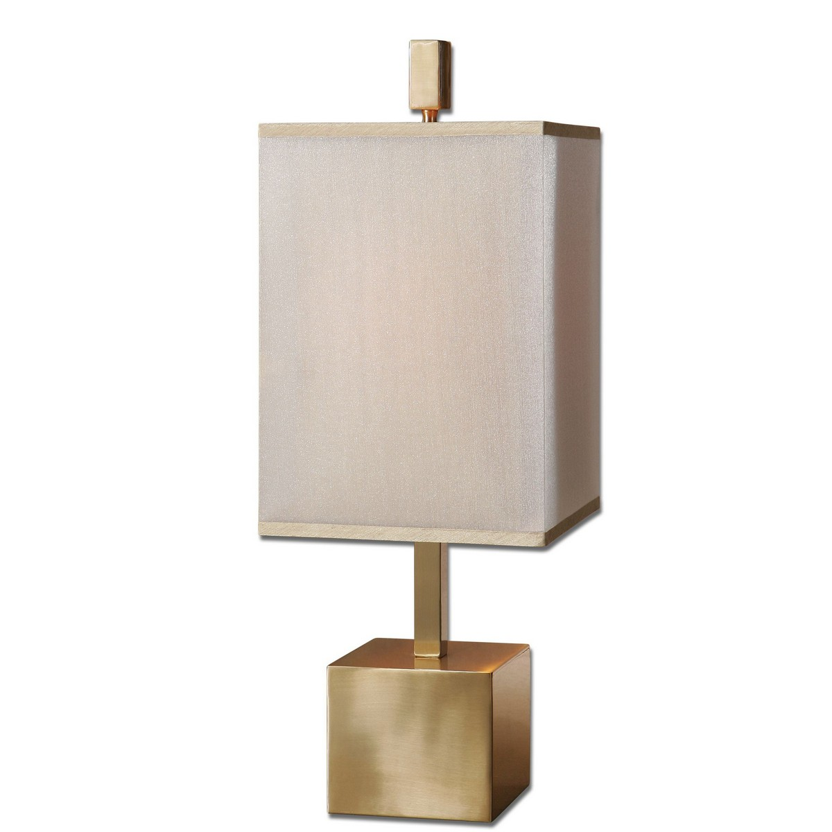 Uttermost Flannigan Brass Accent Lamp 29939-1