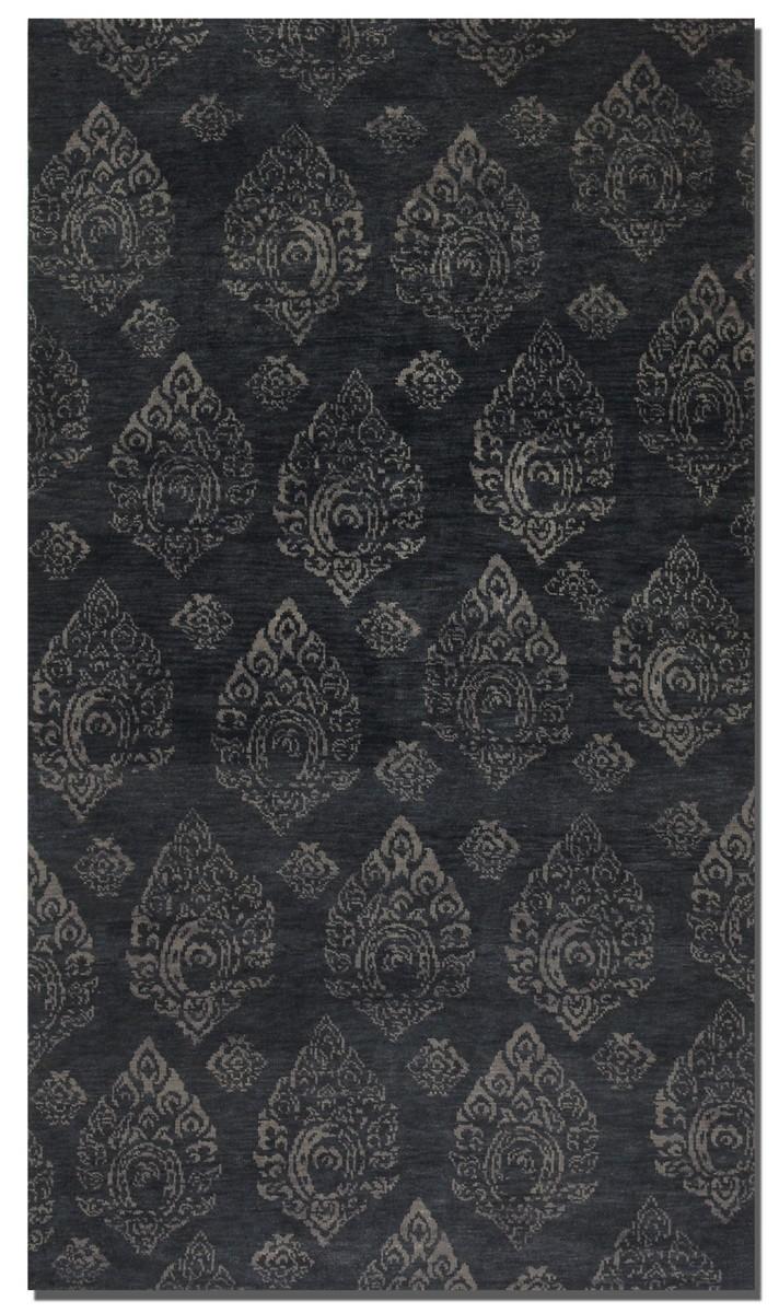 Uttermost Himilaya 6 X 9 Rug - Dark Charcoal