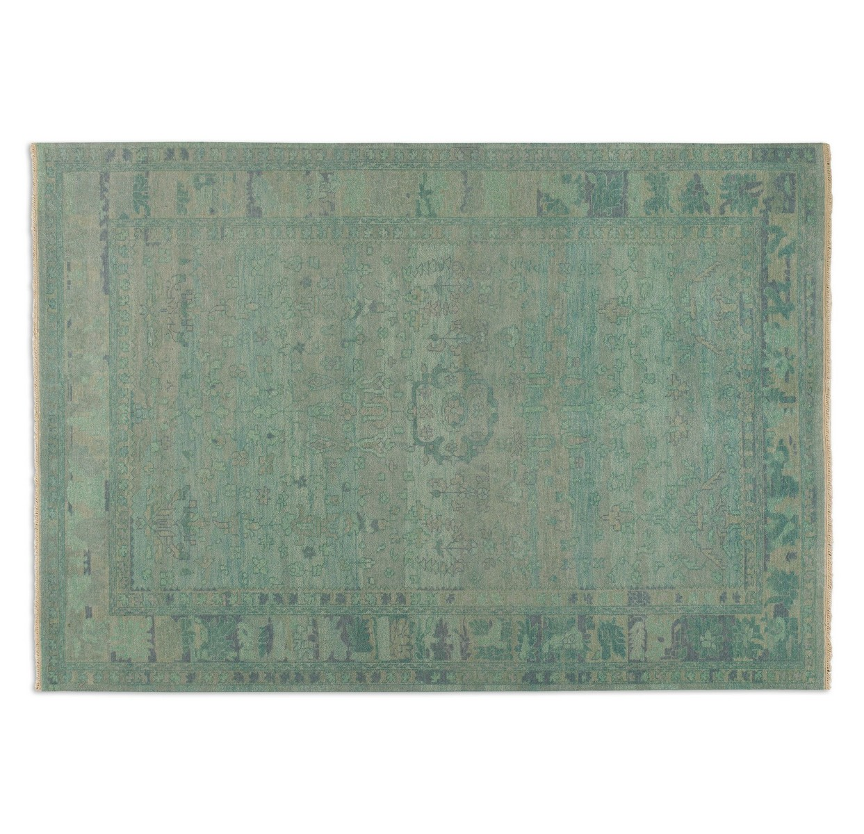 Uttermost Ismir 9 X 12 Rug - Blue Green