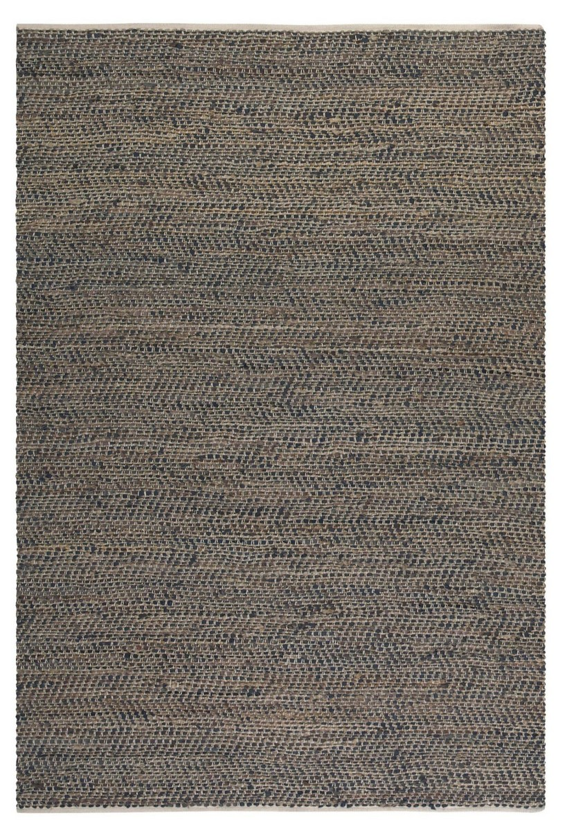 Uttermost Tobais 8 X 10 Rescued Leather & Hemp Rug
