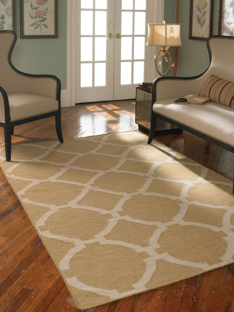Uttermost Bermuda 8 X 10 Rug - Wheat