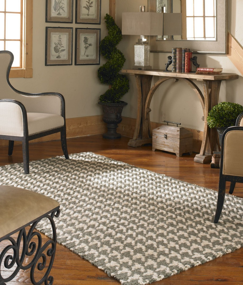Uttermost Bengal 9 X 12 Rug - Olive Gray