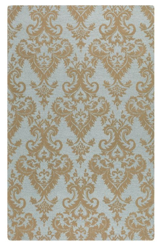 Uttermost Toulouse 8 X 10 Rug In Damask Pattern
