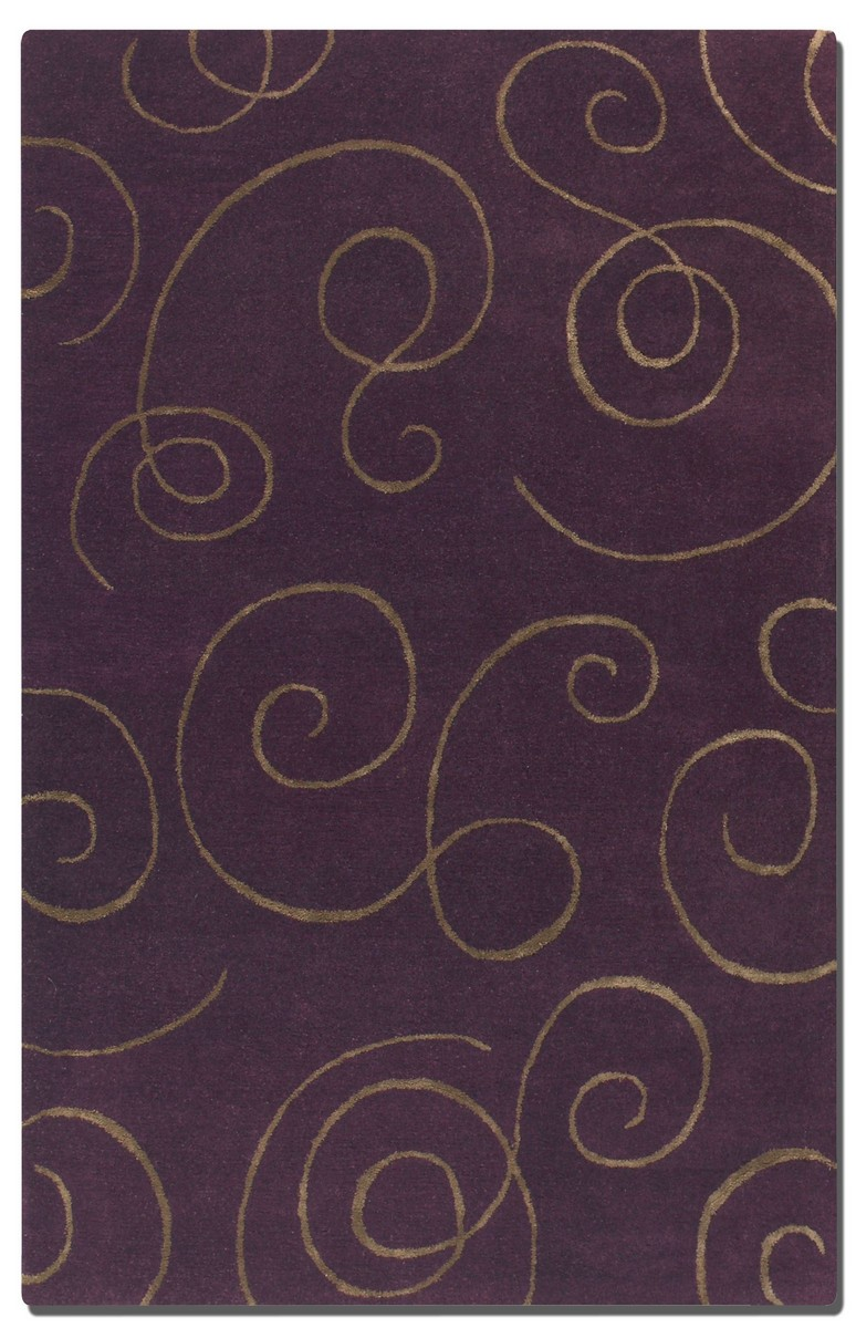 Uttermost Manhattan 5 X 8 Rug - Purple