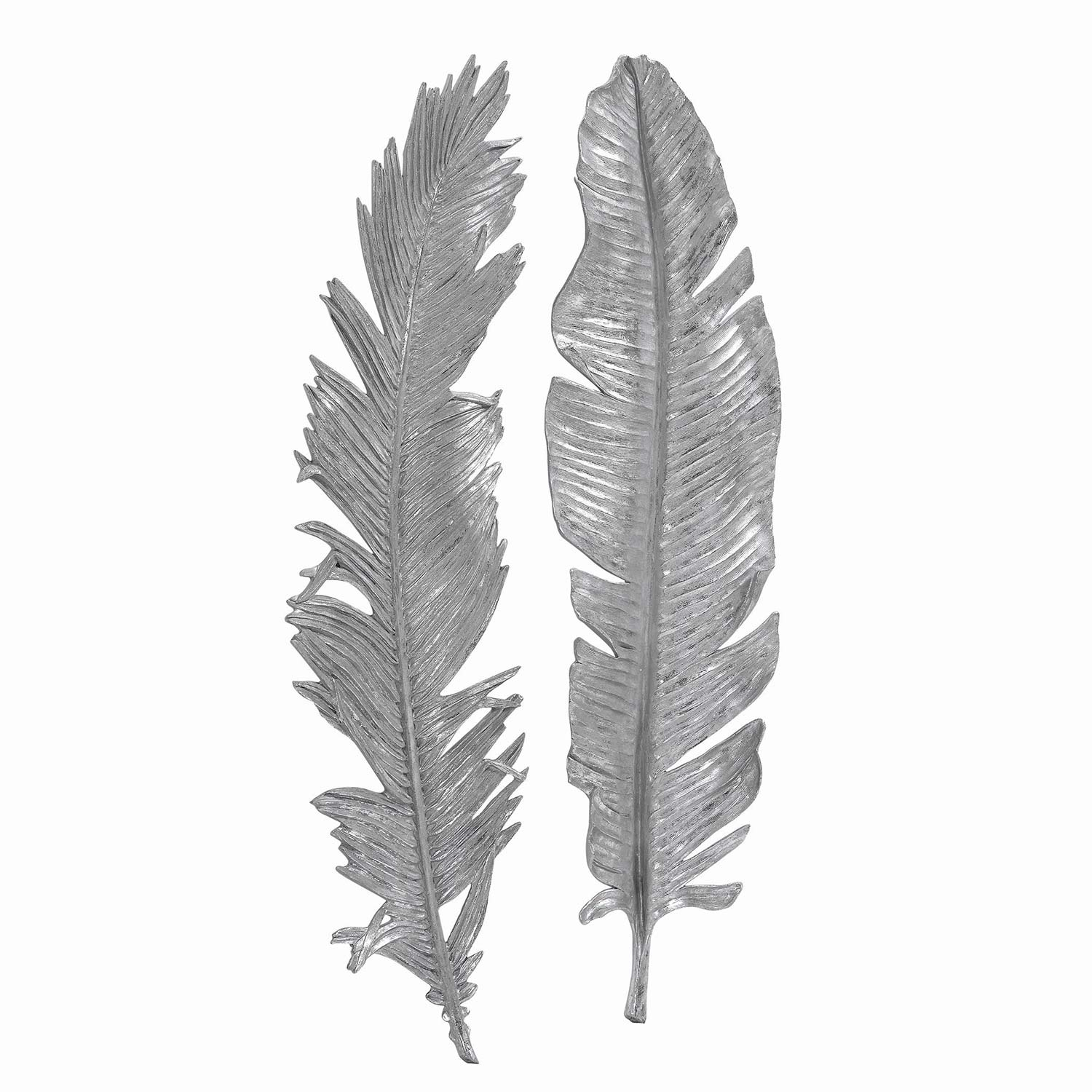 Uttermost Sparrow Silver Wall Decor - Set of 2