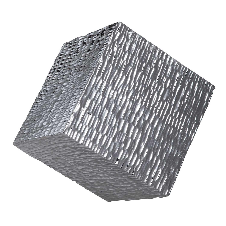 Jessamine Wall Cube - Silver