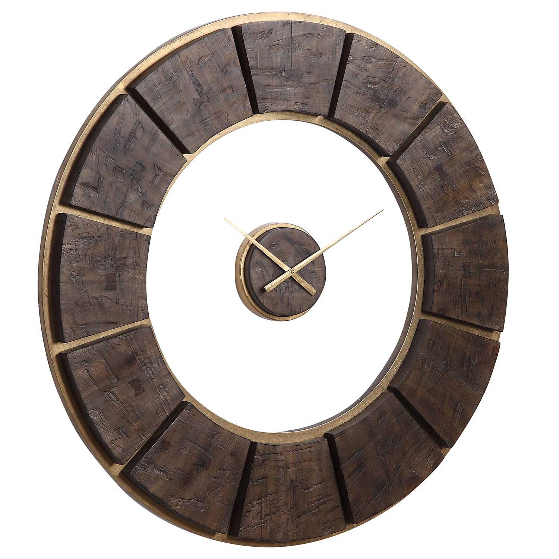Uttermost Kerensa Wooden Wall Clock