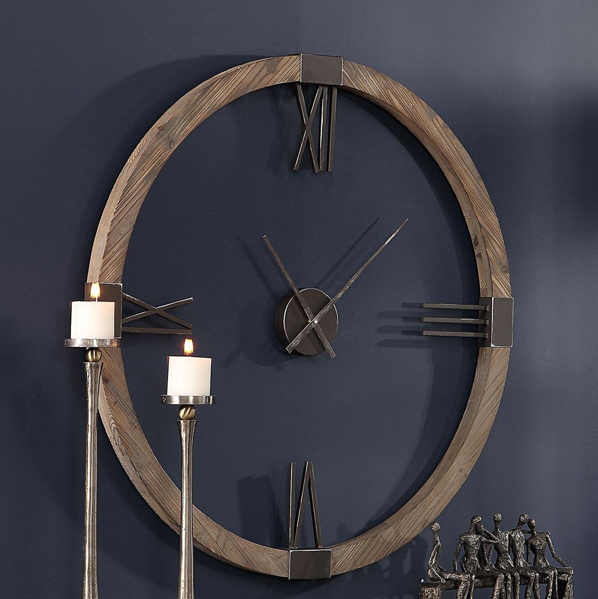 Uttermost Marcelo Modern Wall Clock