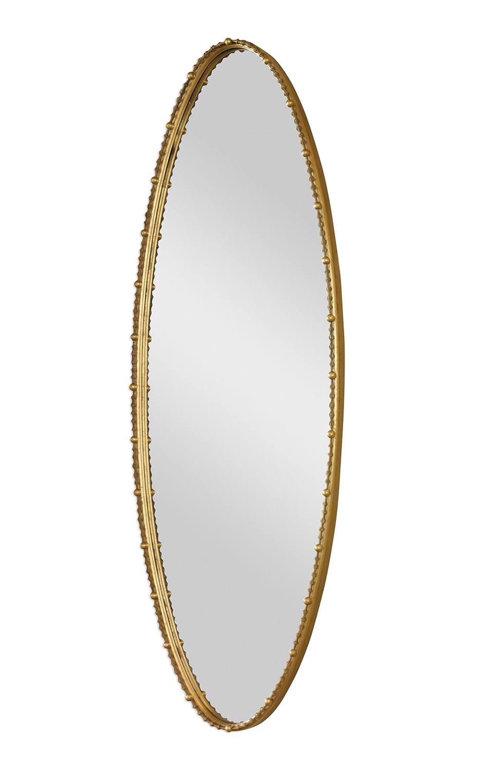 Uttermost Hadea Oval Mirror - Gold