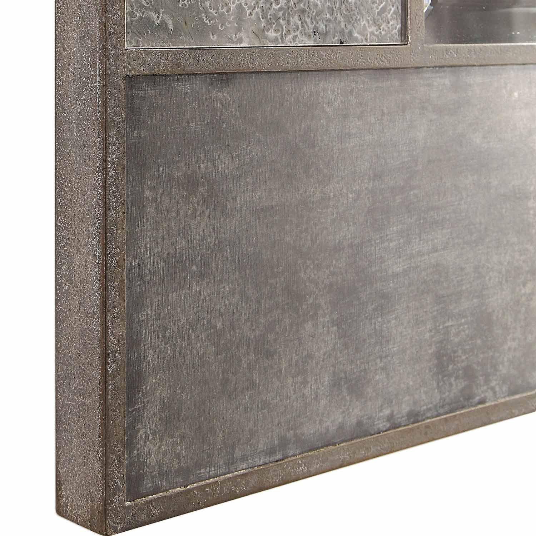 Uttermost Taelon Metal Panel Mirror