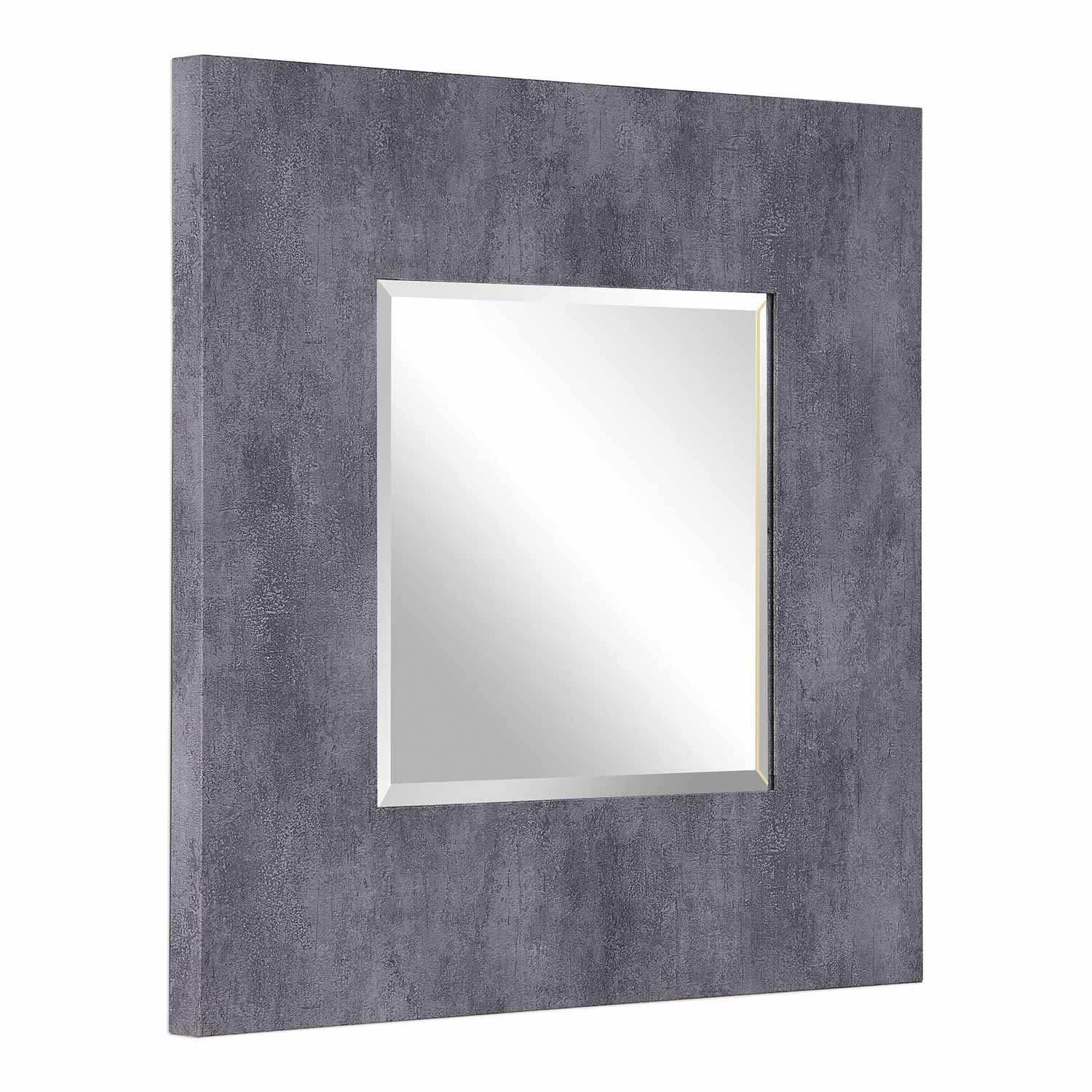 Uttermost Rohan Square Mirror - Gray