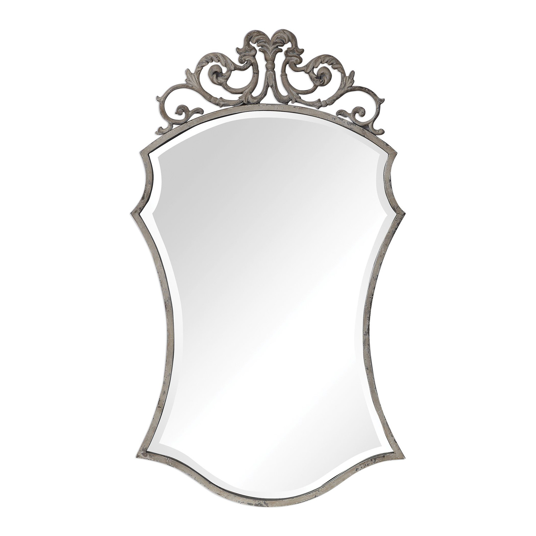Uttermost Sadie Distressed Scroll Mirror