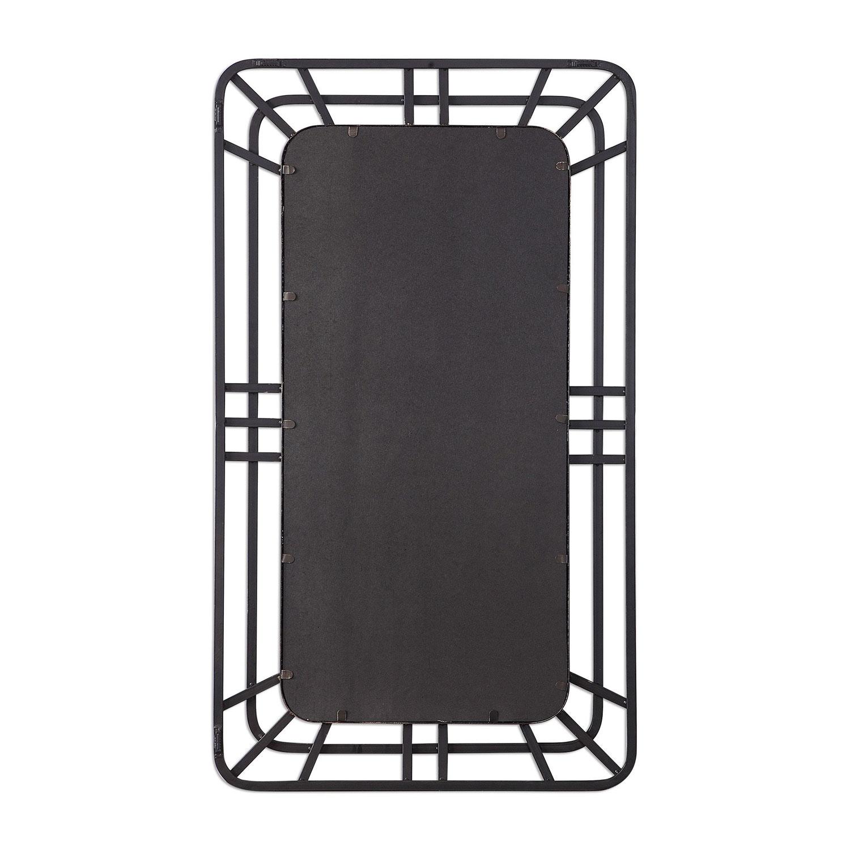 Uttermost Alston Open Framed Iron Mirror