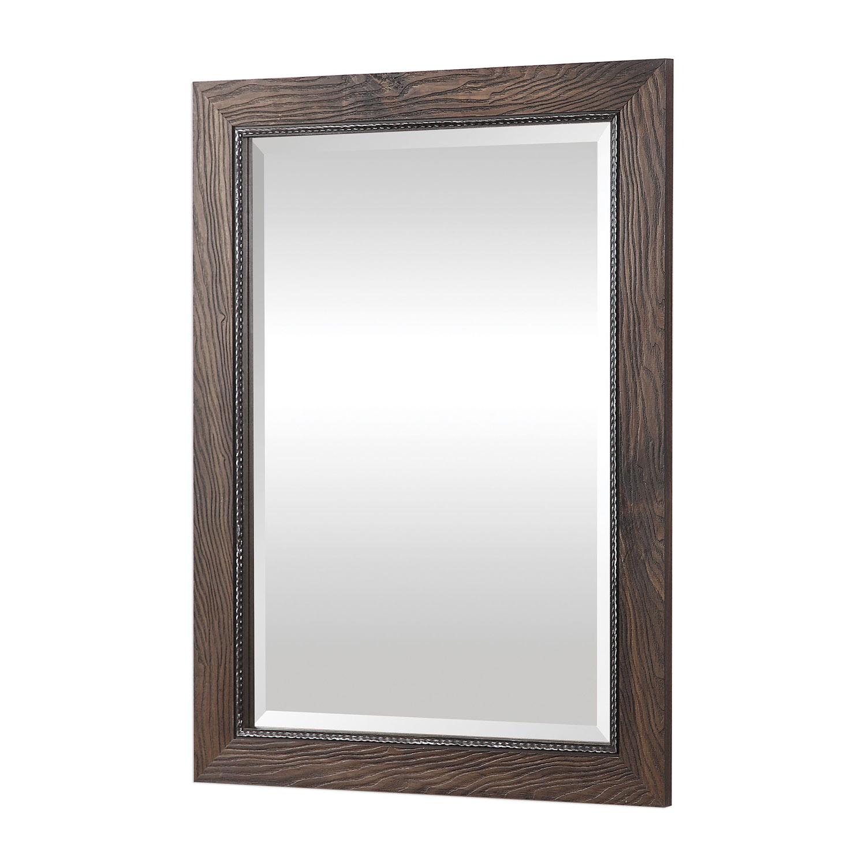 Uttermost Lanford Vanity Mirror - Walnut