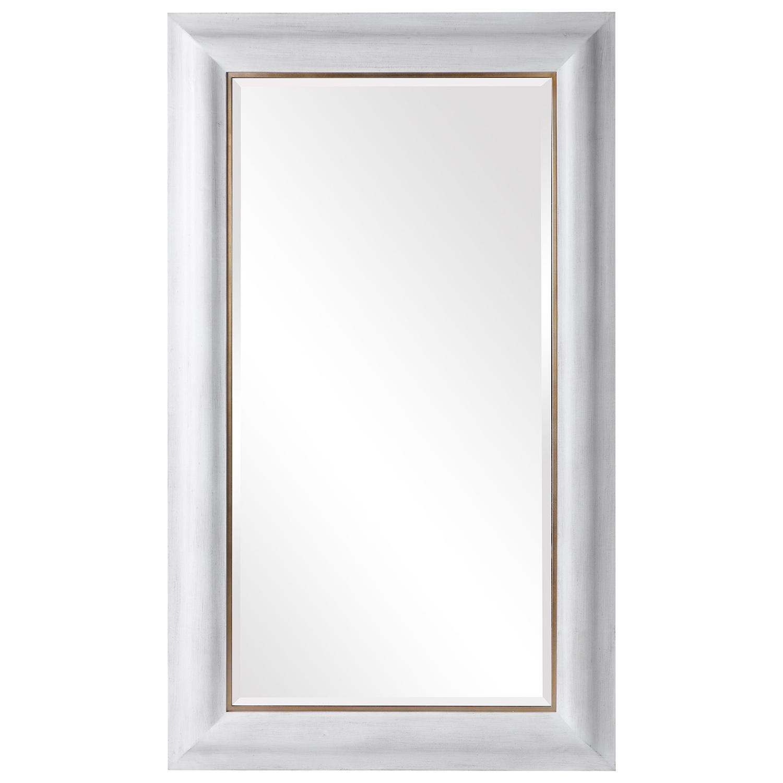 Piper Large Mirror - White