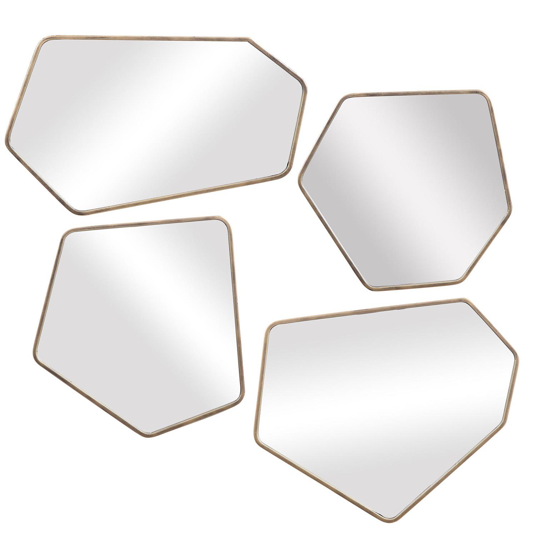 Linneah Modern Mirrors - Set of 4