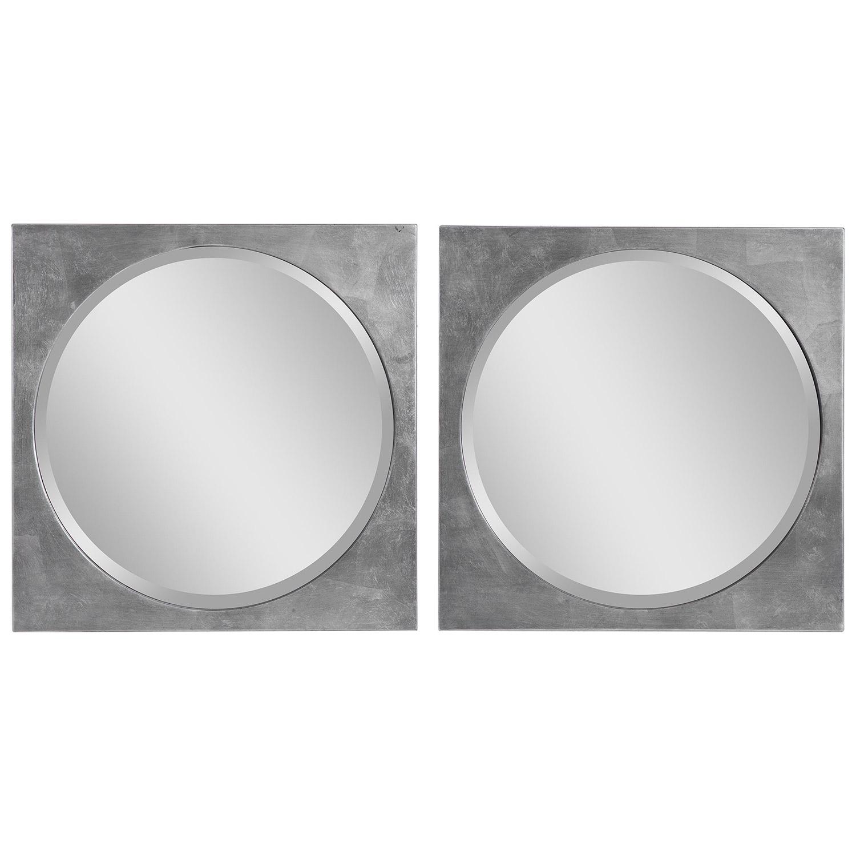 Aletris Modern Square Mirrors - Set of 2