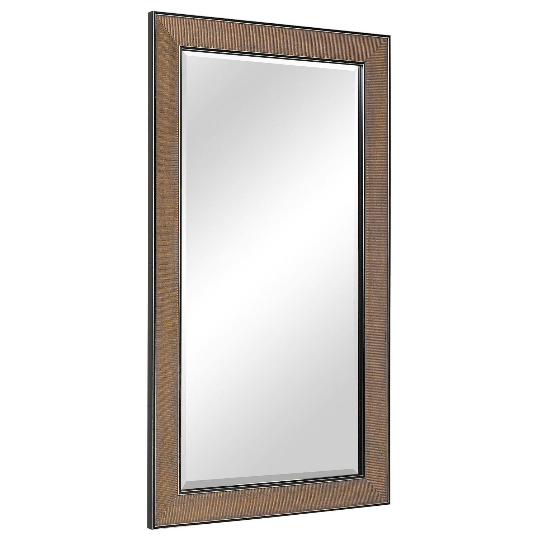 Uttermost Valles Mirror - Golden Rust