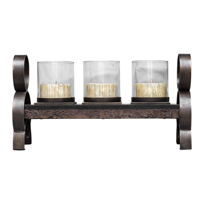 Uttermost Mila Candleholder - Antique Bronze