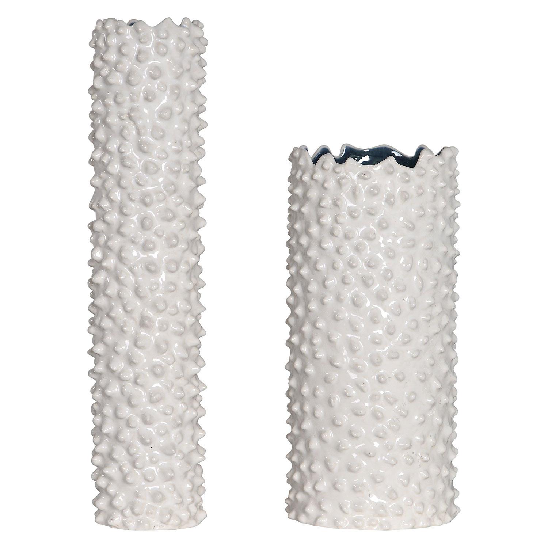 Uttermost Ciji Vases - Set of 2 - White