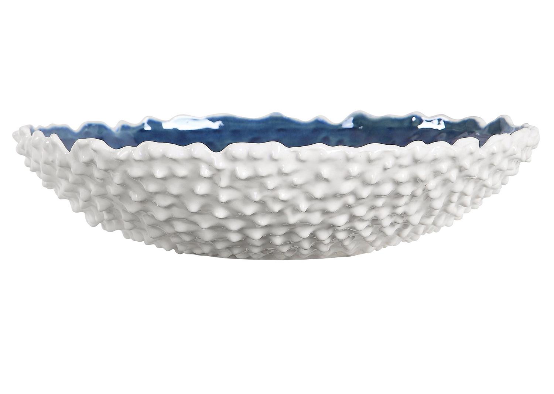 Uttermost Ciji Bowl - White