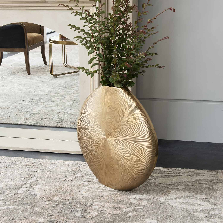 Uttermost Gretchen Vase - Gold