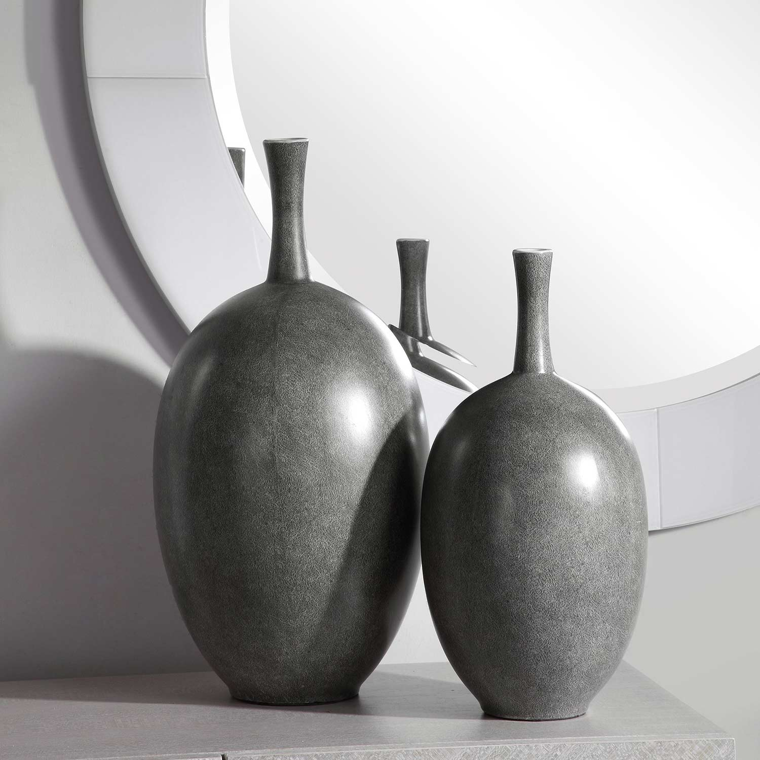 Uttermost Riordan Modern Vases - Set of 2