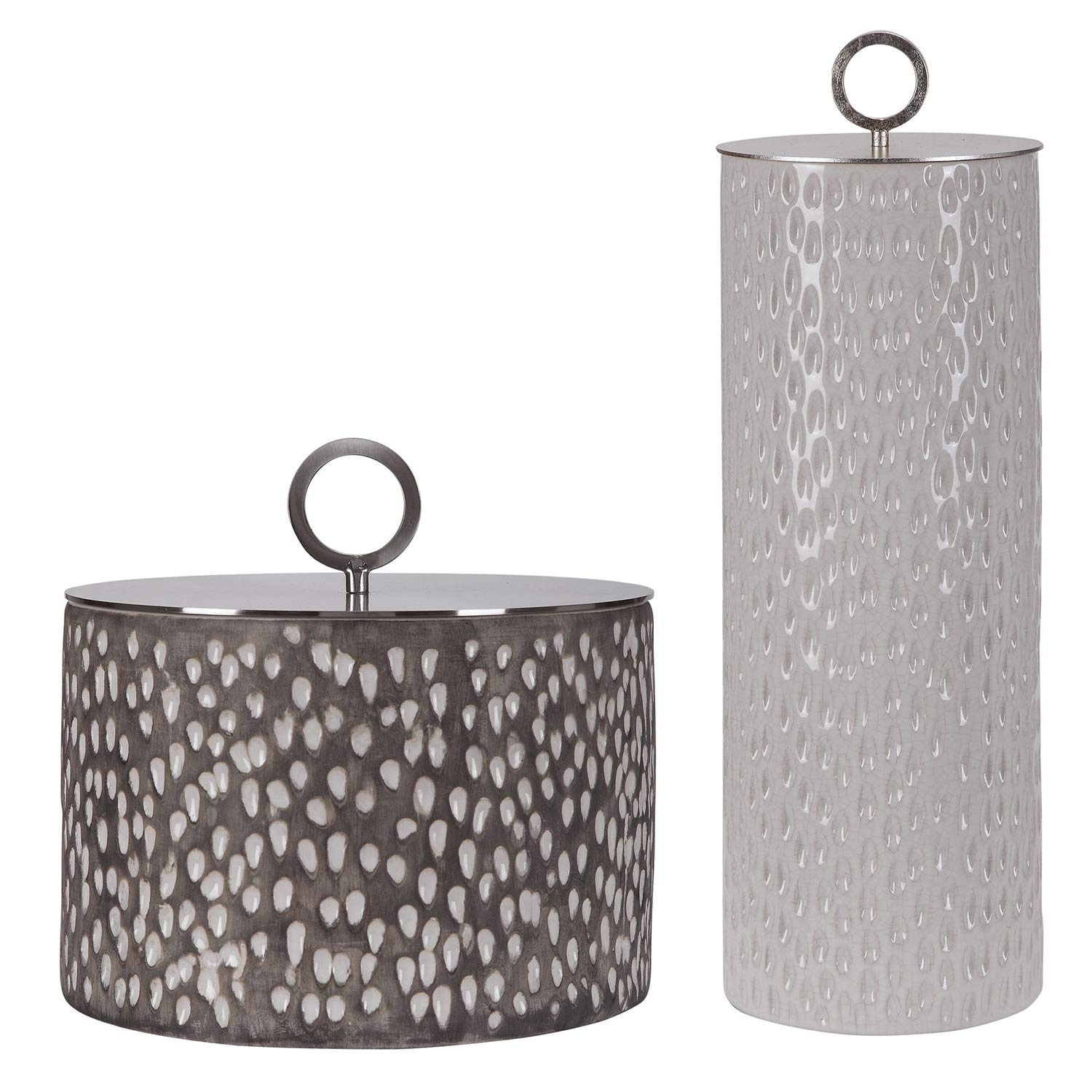 Cyprien Ceramic Containers - Set of 2