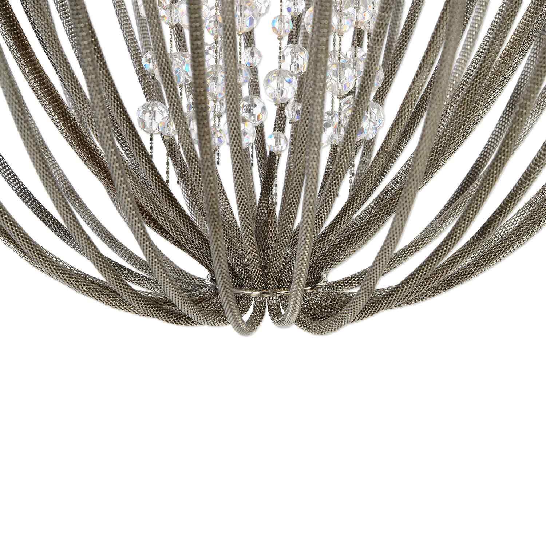 Uttermost Couler 4 Light Polished Nickel Chandelier