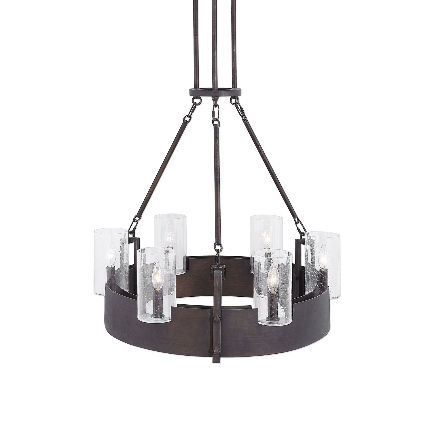 Uttermost Pinecroft 6-Light Circular Chandelier