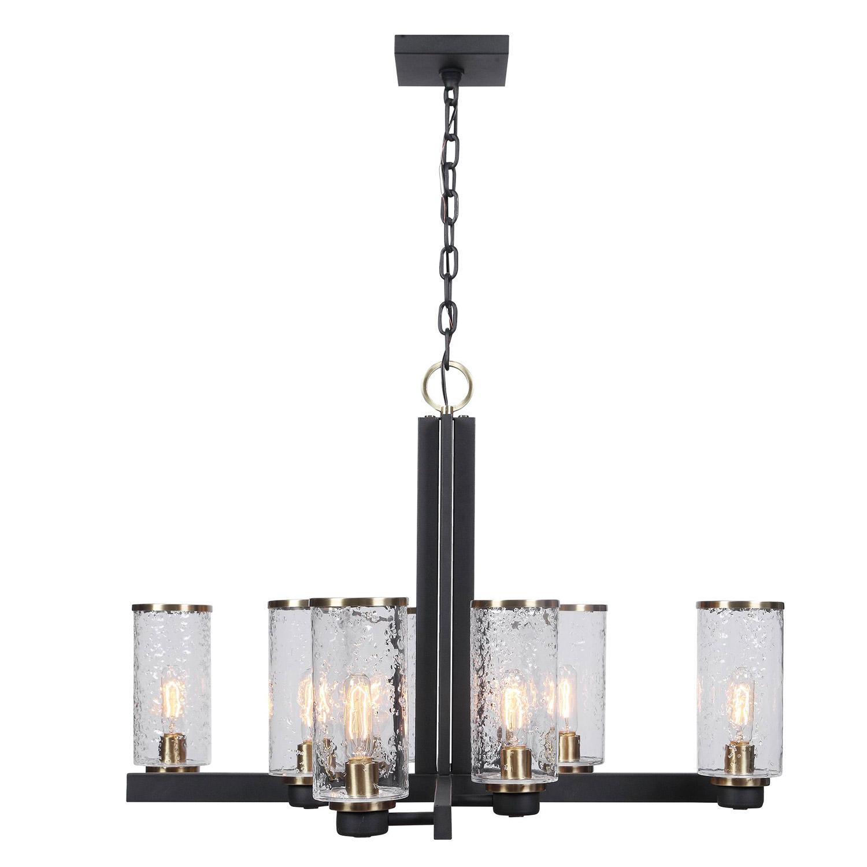 Uttermost Jarsdel 8 Light Industrial Chandelier