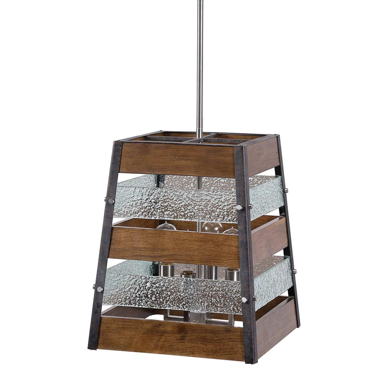 Uttermost Glasshouse 4 Light Lantern Pendant