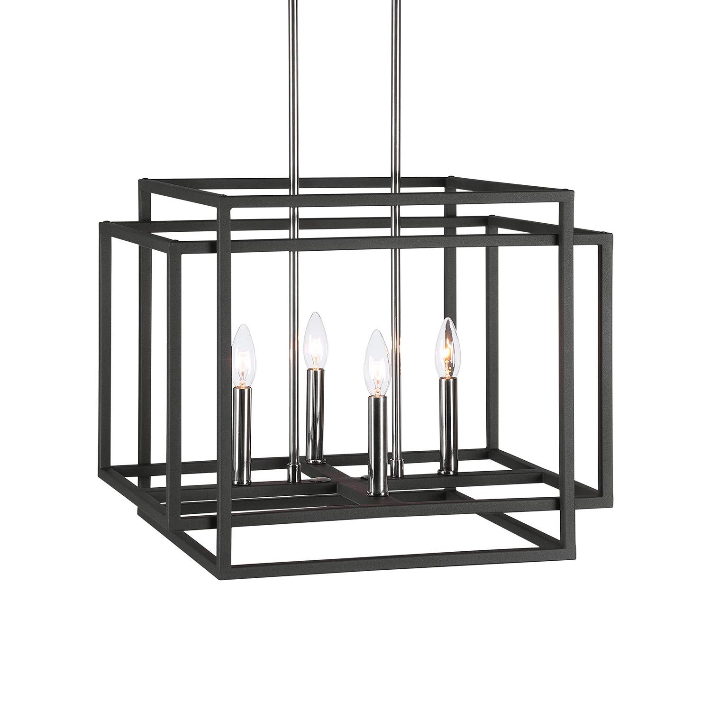 Uttermost Quadrangle 4 Light Pendant