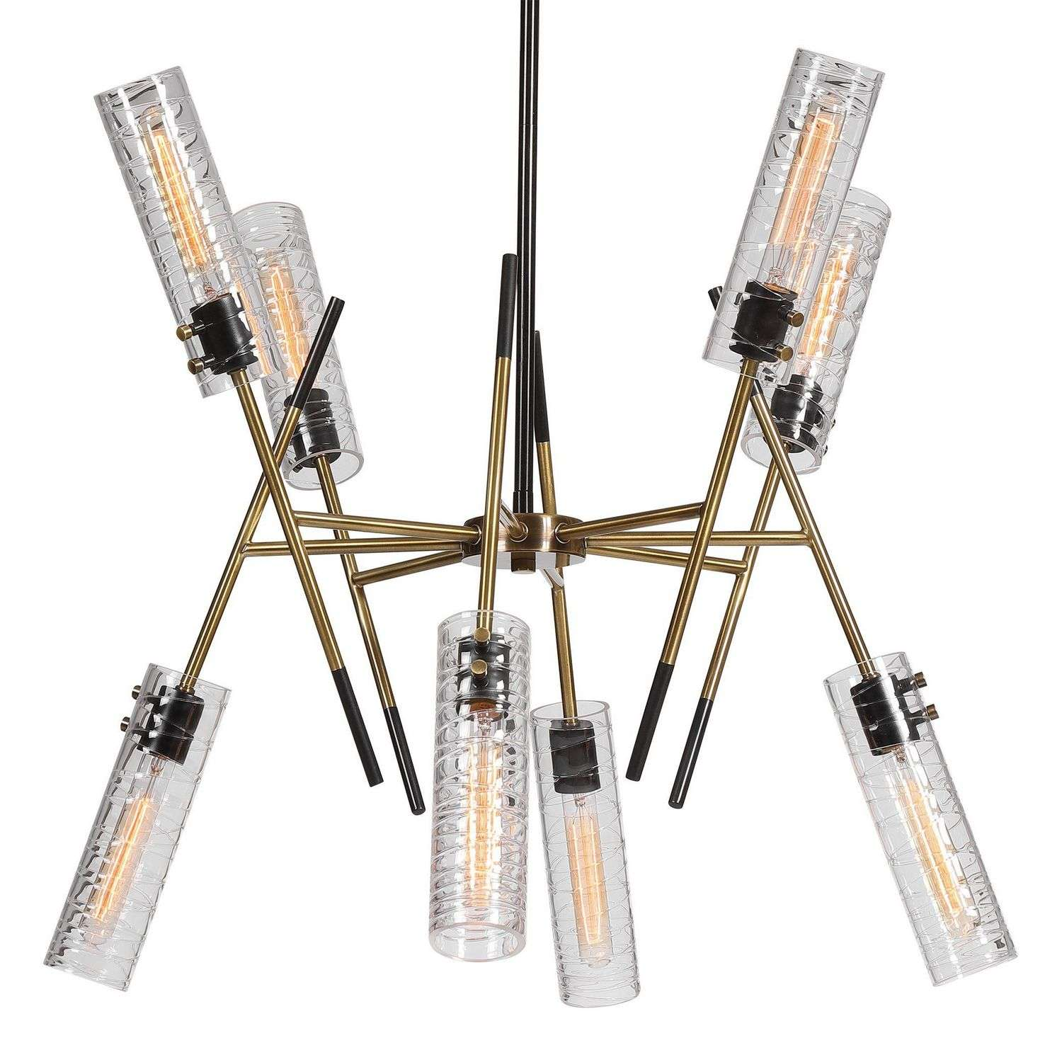 Uttermost Telesto 8 Light Linear Pendant