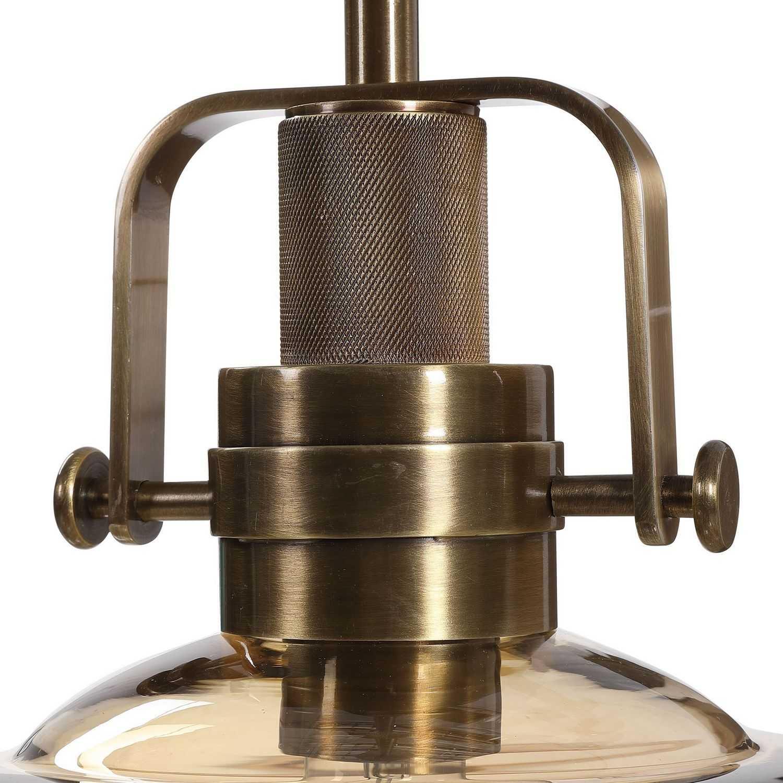 Uttermost Kinnard 1 Light Industrial Pendant