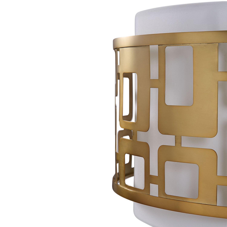 Uttermost Vecta 3 Light Pendant - Brass