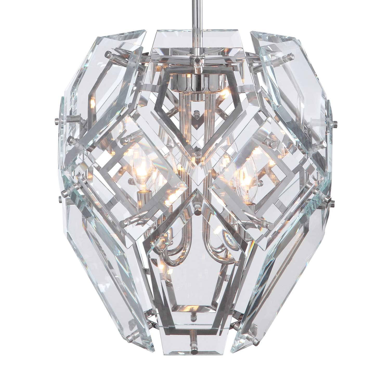 Uttermost Noorvik 4 Light Pendant - Geometric