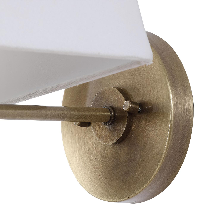 Uttermost Brambleton 1 Light Sconce - Brass