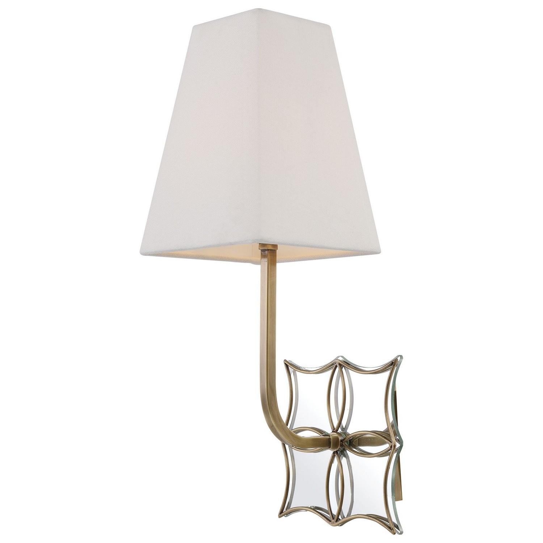 Uttermost Theodora 1 Light Sconce - Brass