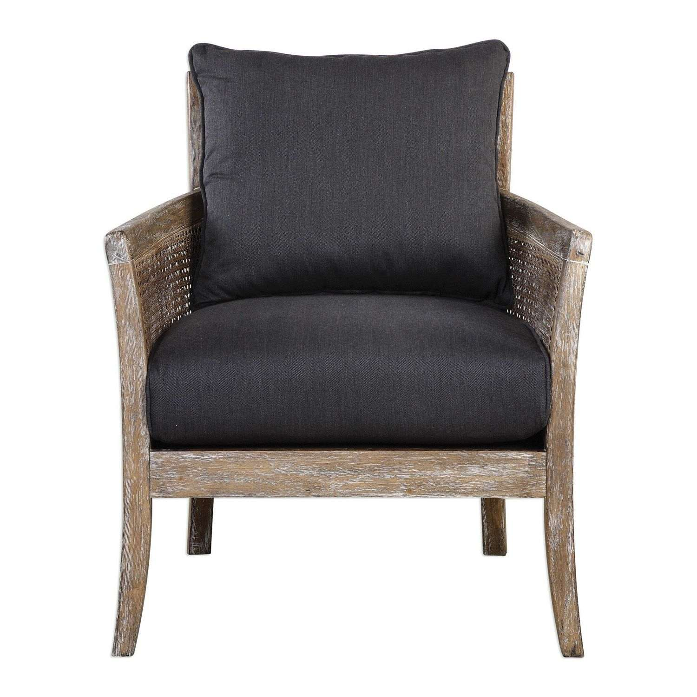 Uttermost Encore Armchair - Dark Gray