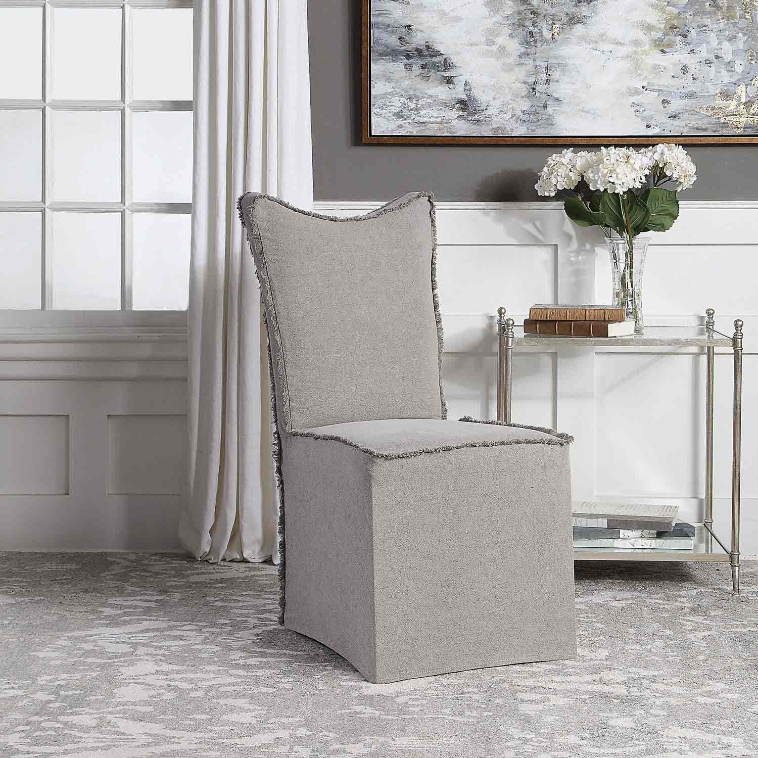 Uttermost Narissa Armless Chairs - Set of 2