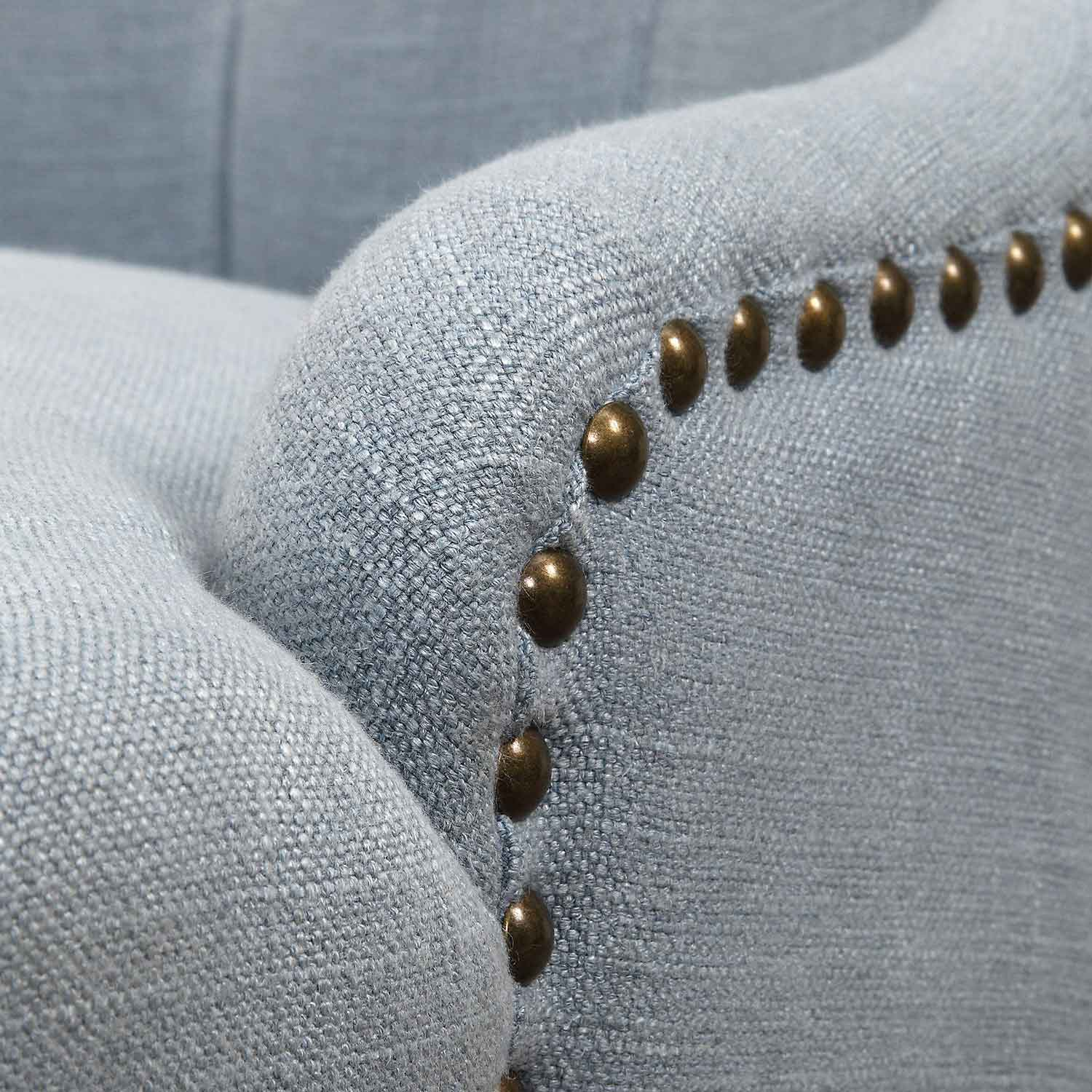 Uttermost Rioni Tufted Wing Chair