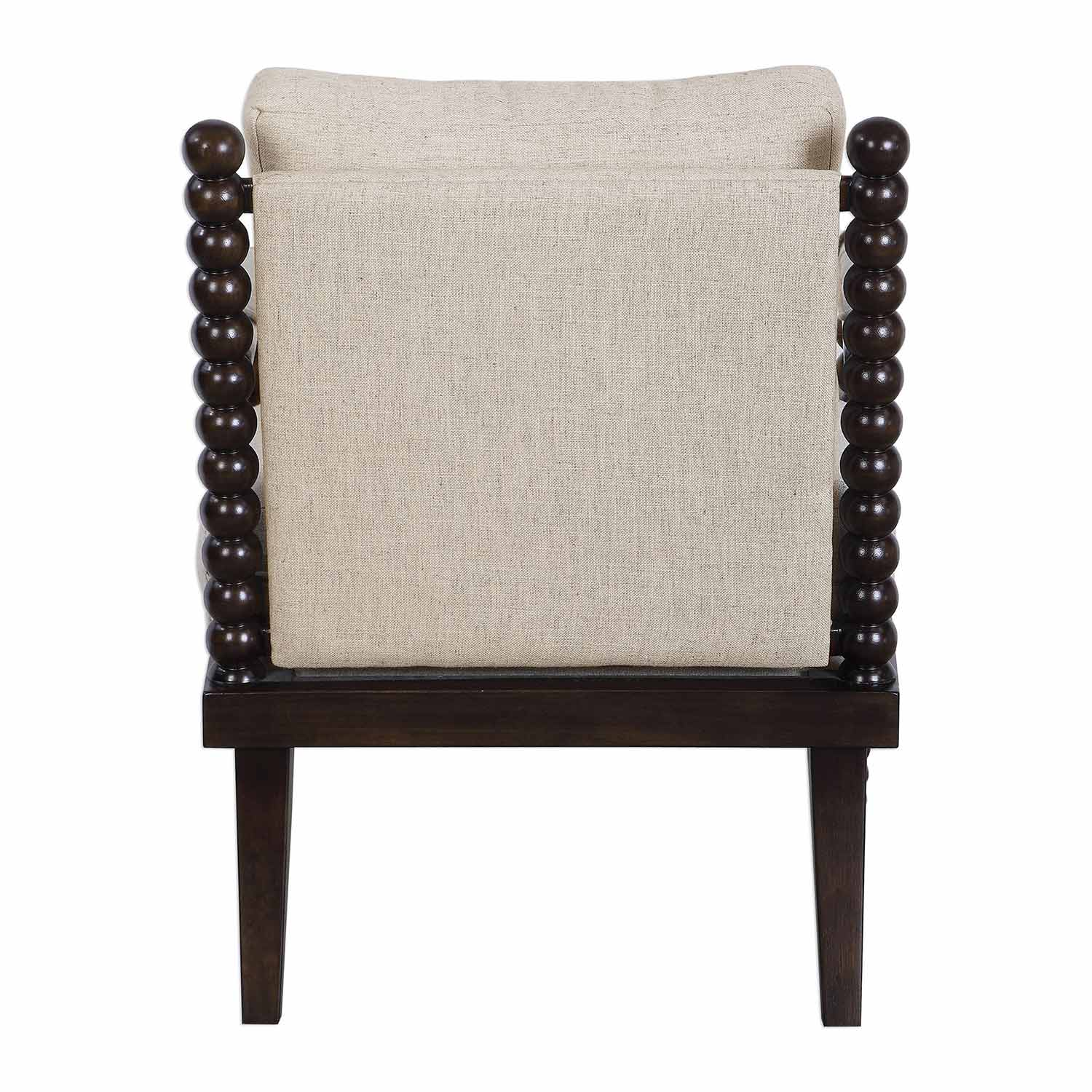 Uttermost Lachlan Accent Chair - Oatmeal
