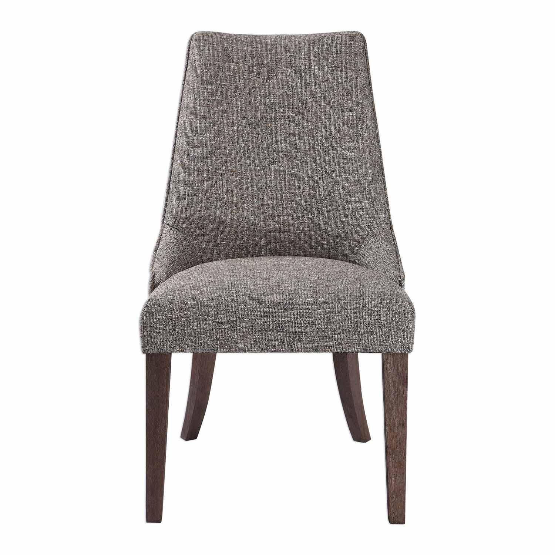 Uttermost Daxton Earth Tone Armless Chair