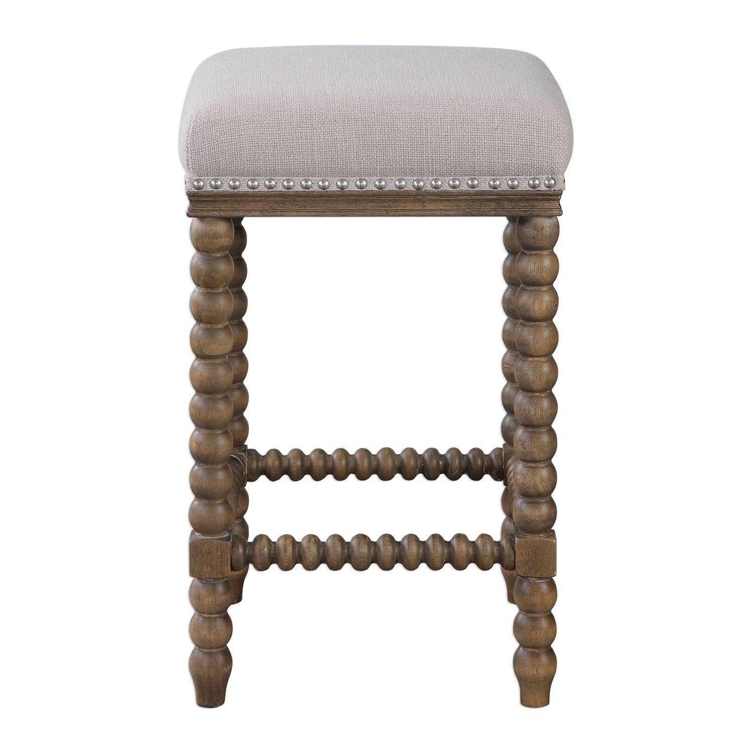 Uttermost Pryce Wooden Counter Stool