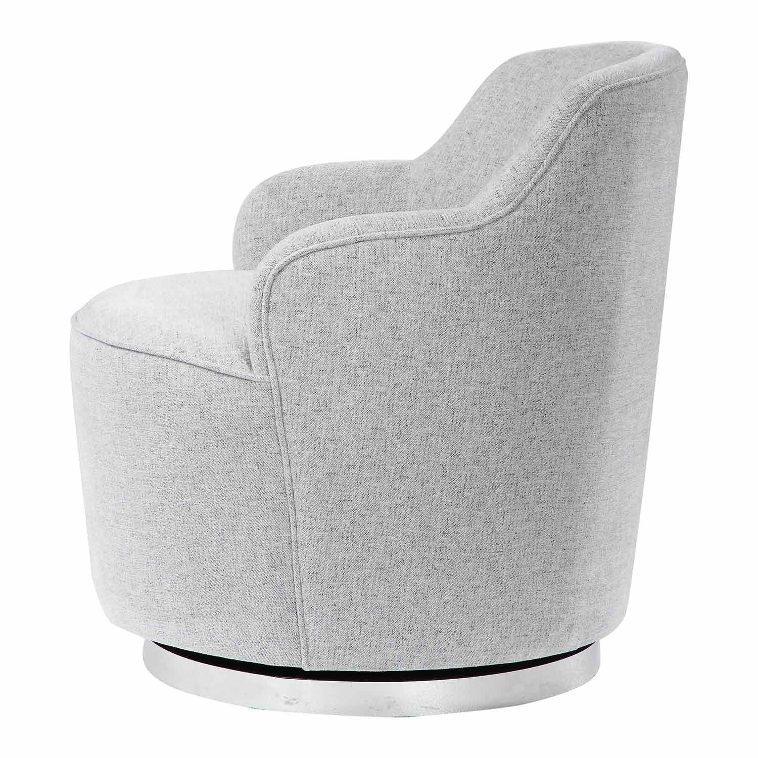 Uttermost Hobart Casual Swivel Chair